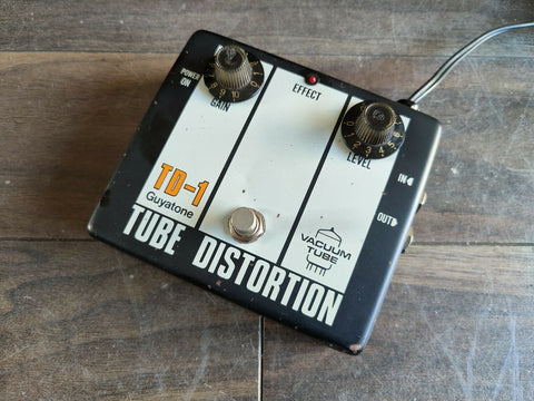 1980's Guyatone TD-1 Vintage Tube Distortion (Made in Japan)