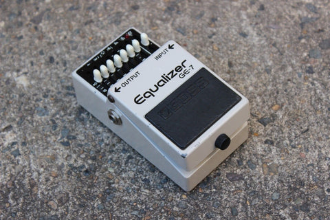 1983 Boss GE-7 Graphic Equalizer EQ MIJ Japan Vintage Effects Pedal