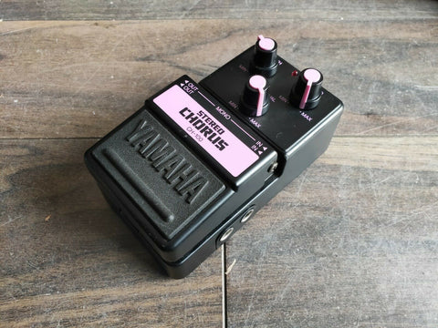 1980's Yamaha CH-100 Stereo Chorus Effects MIJ Japan Pedal