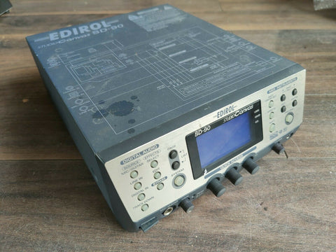 Edirol SD-90 StudioCanvas Sound Module and Audio Interface