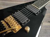 2006 Edwards (by ESP) E-RV-136 Rhoads Flying V (Black)