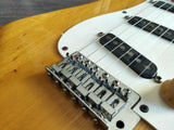1980 Aria Pro II Japan ST-600 Strikin' Sound Stratocaster (Natural w/Rosewood)