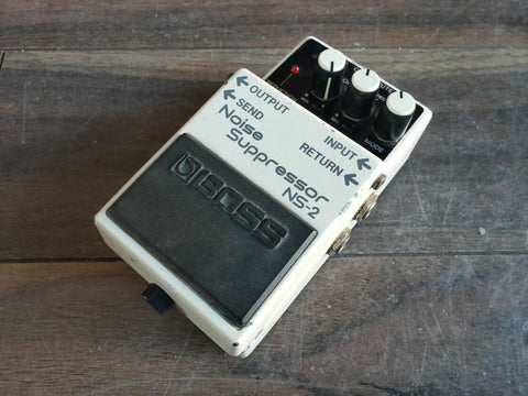1992 Boss NS-2 Noise Supressor Gate Vintage Effects Pedal
