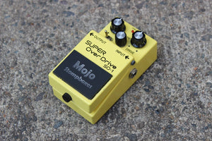 Mojo Mods Boss SD-1 Super Overdrive Tubescreamer Modified Effects Pedal