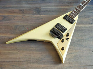 1986 Fernandes Japan JS-90 Randy Rhoads Flying V (Pearl White)