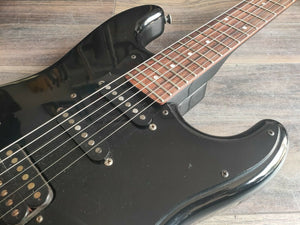 1985 Fender Japan ST-556 A Series HSS Boxer Stratocaster (Black)