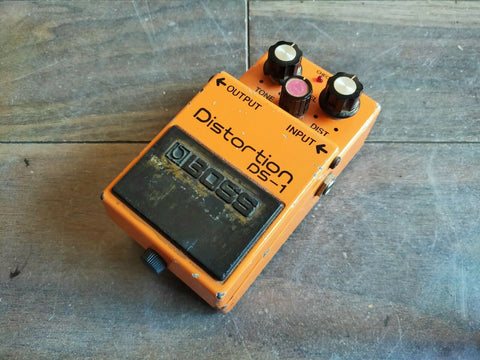 1981 Boss DS-1 Distortion Long Dash MIJ Vintage Effects Pedal