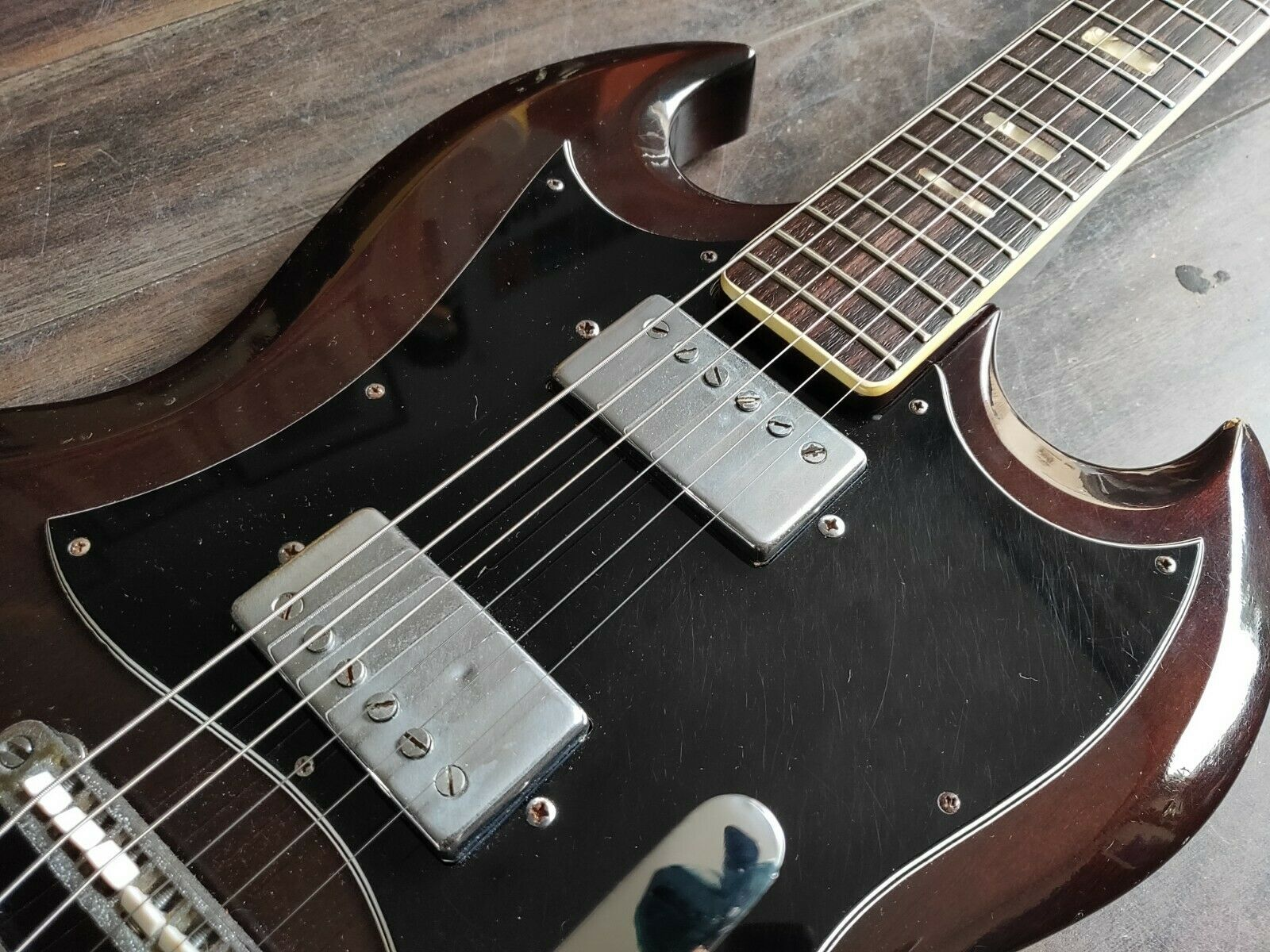 1972 Ibanez 2354 SG (Walnut) Japan Vintage Electric Guitar