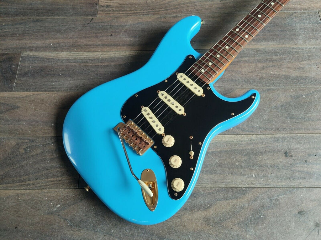 2005 Fender Japan ST62G-SPL SRV Stevie Ray Vaughan Stratocaster (Daphne Blue)