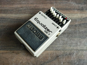 1989 Boss GE-7 Graphic Equalizer EQ MIJ Japan Vintage Effects Pedal