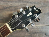 1985 Fender Japan Esprit Set Neck Double Cutaway (Black) w/Hard Case