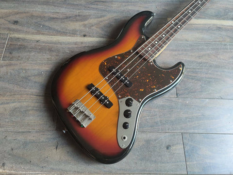 2011 History (Fujigen) Japan SH-BJ4 Heritage Wood Jazz Bass (Sunburst)