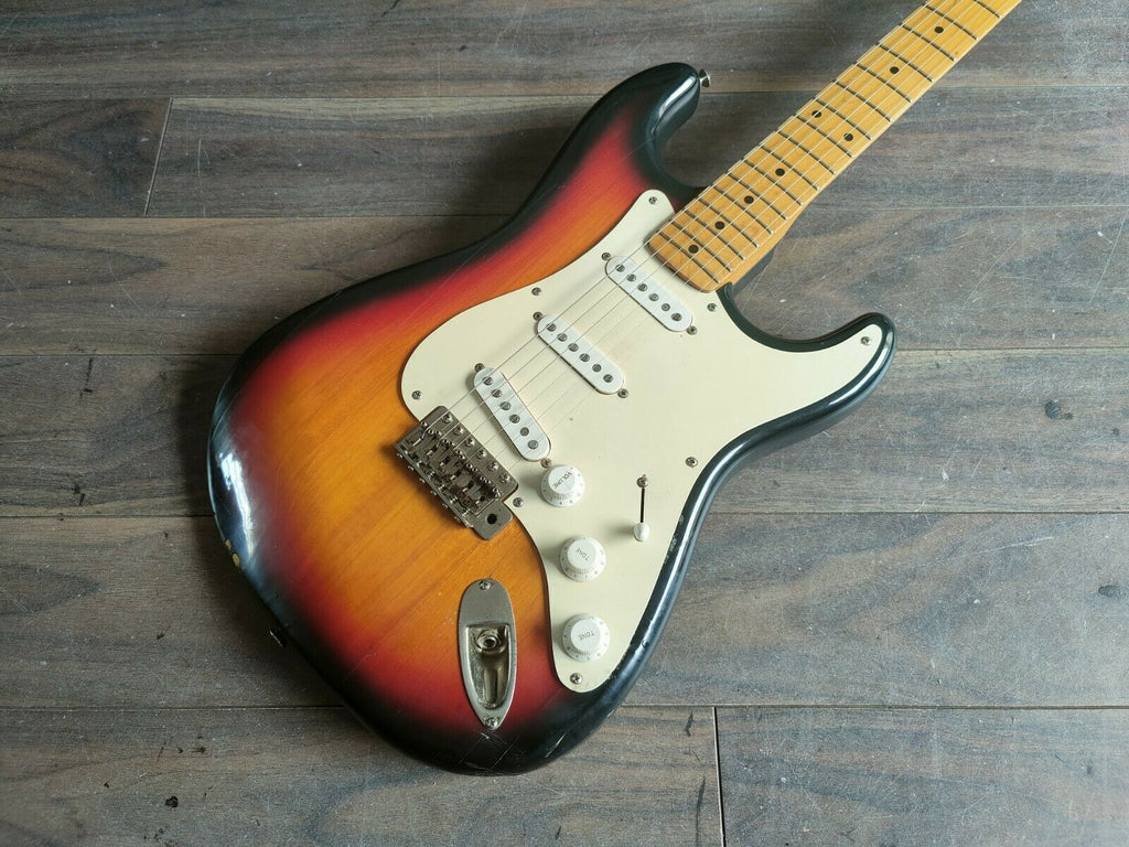 1981 Greco SE-380 Super Power '57 Reissue Stratocaster (Sunburst)