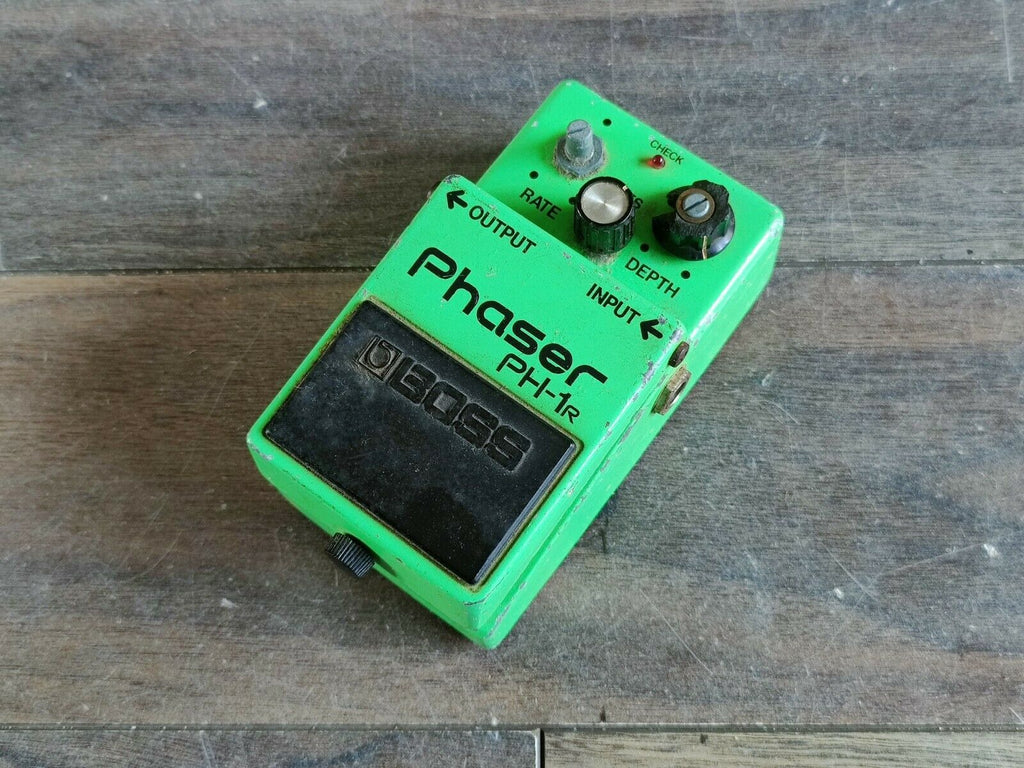 1980's Boss PH-1r Phaser MIJ Vintage Effects Pedal