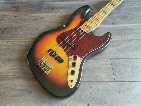 1974 Greco Japan JB-500S Jazz Bass (Sunburst)