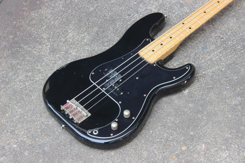 1970's Fernandes Japan FPB-50BL Precision Bass MIJ (Black)