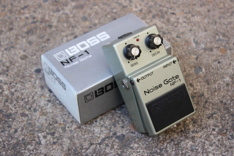 1970's Boss NF-1 Noise Gate Vintage MIJ Japan Effects Pedal w/Box