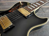 1989 Greco Japan EGC68-60 Les Paul Custom (Ebony)