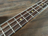 1971 Fender USA Vintage Mustang Bass Guitar (Competition Stripe Red) w/Hard Case