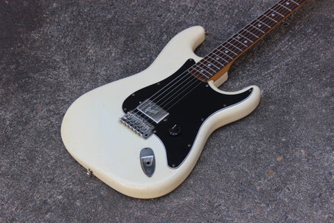 1981 Greco SE-450 Spacey Sound 72 Stratocaster Humbucker Japan MIJ (White)