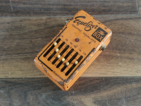 1970's Guyatone PS-105 Equalizer Box Vintage Effects Pedal