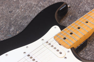 1976 Westminster Japan Stratocaster Matsumoku Electric Guitar (Black)