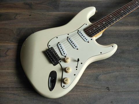 1982 Greco SE-450 Spacey Sound JV Stratocaster Electric Guitar Japan (White)