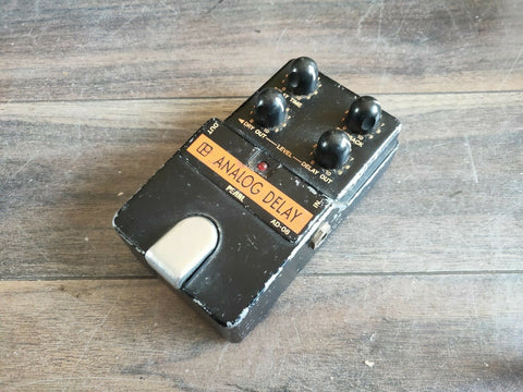 1980's Pearl AD-08 Analog Delay MIJ Japan Vintage Effects Pedal
