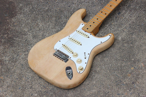 1977 Aria Pro II ST-400N Stage Caster Stratocaster MIJ Japan (Natural)