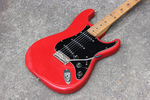 1994 Squier (by Fender) Japan Silver Series Stratocaster MIJ (Torino Red)