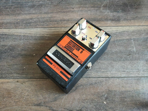 1983 Guyatone PS-017 Distortion Chorus MIJ Japan Vintage Effects Pedal