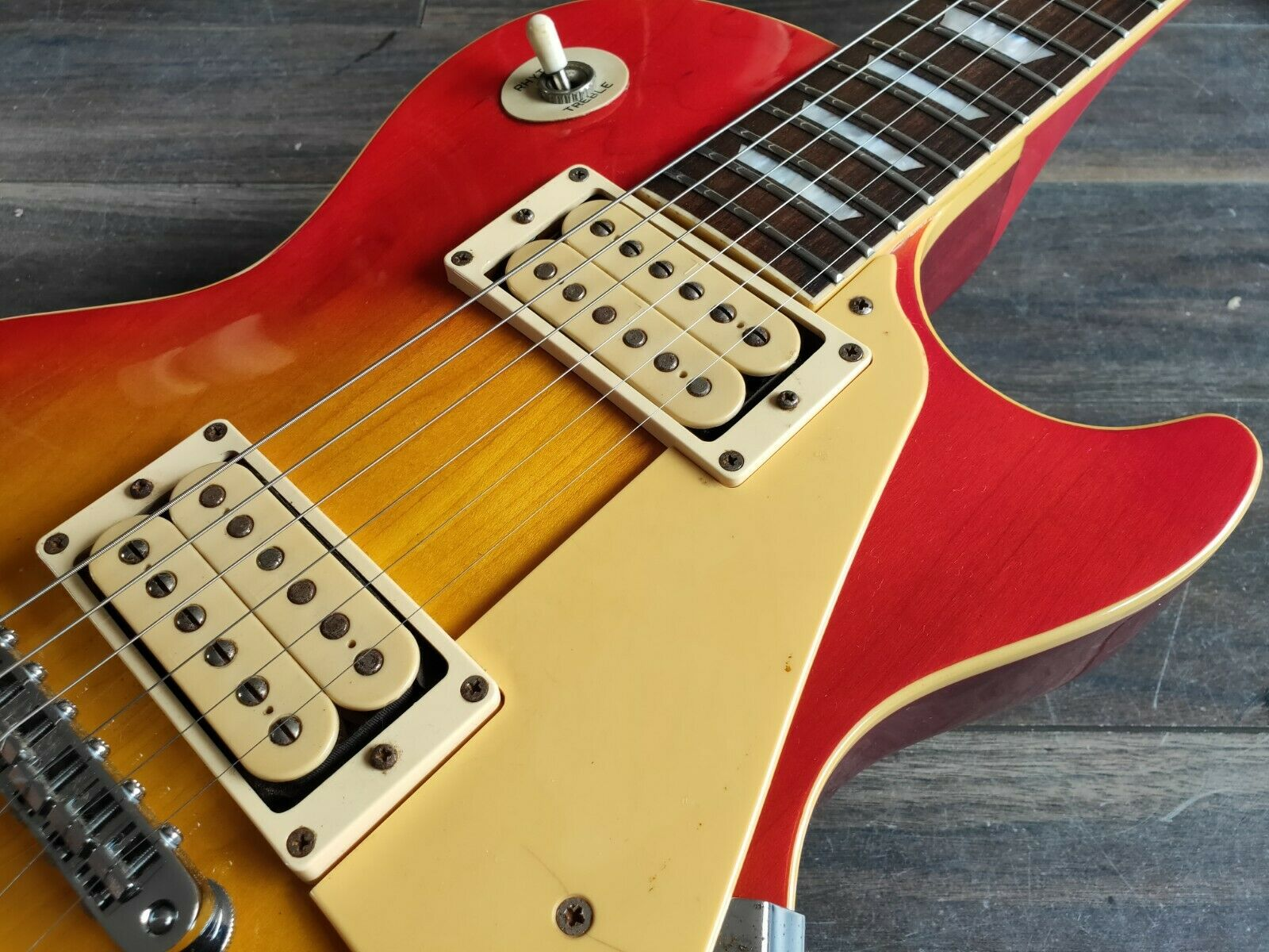 1980 Aria Pro II Japan LS-400 Les Paul Standard (Cherry Sunburst)