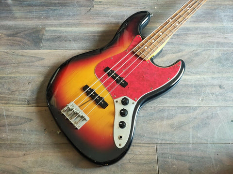1997 Fender Japan JB62 '62 Reissue Jazz Bass w/USA Pickups (Sunburst)
