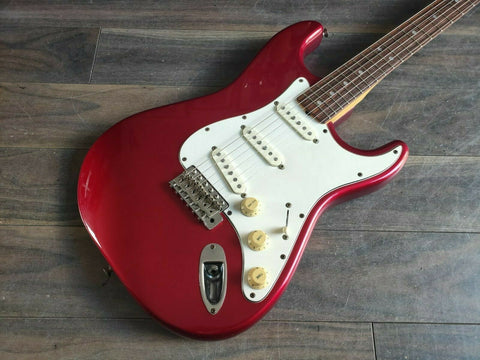 1983 Tokai Japan ST-60 Goldstar Sound Stratocaster (Candy Apple Red)