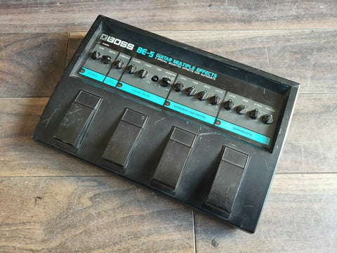 Vintage Boss BE-5 Multi Effects MIJ Effects Pedal