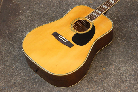1970's Tomson WM30 Vintage Acoustic Guitar - Made in Japan