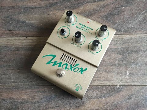 Maxon ROD880 Real Tube Overdrive MIJ Japan Effects Pedal