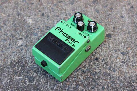 1981 Boss PH-1r Phaser MIJ Vintage Effects Pedal (Signed by June Yamagishi)