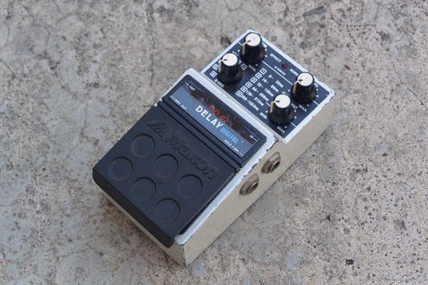 1980s Maxon DD-02 Digital Delay MIJ Japan Effects Pedal