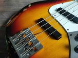 2002 Fender Japan JB62 '62 Reissue MIJ Jazz Bass (Sunburst)