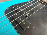 1986 Fender Japan '62 Reissue E Series Precision Bass (Aqua Blue) w/Dimarzio