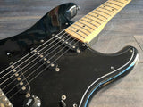 1992 Squier (by Fender) Japan Silver Series Stratocaster MIJ (Black)