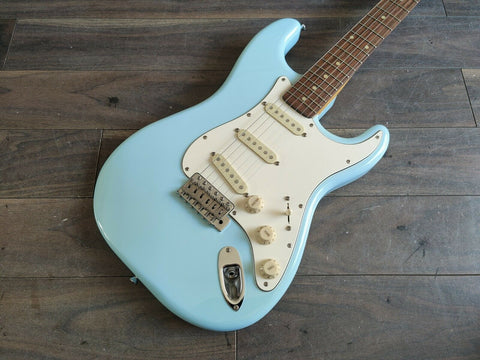 2015 Edwards (by ESP Japan) E-ST-90ALR Stratocaster (Sonic Blue)
