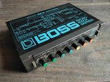 1980's Boss RDD-10 Modulated Digital Delay MIJ Japan Vintage Effects Rack