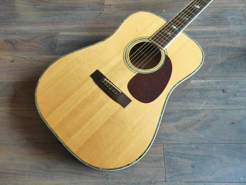 1972 Morris W-40 Acoustic Western Guitar (Made in Japan)