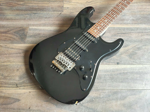 1980's Tokai Japan Custom Edition HSS Stratocaster Superstrat (Black)