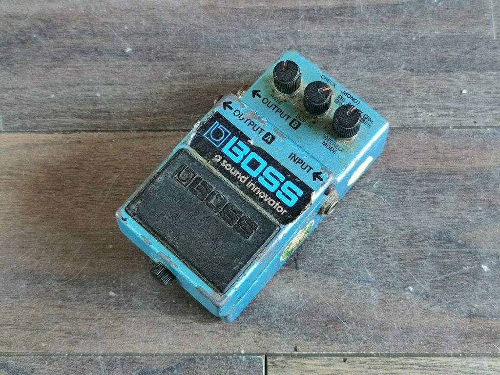 1980's Boss CE-3 Stereo Chorus MIJ Vintage Effects Pedal