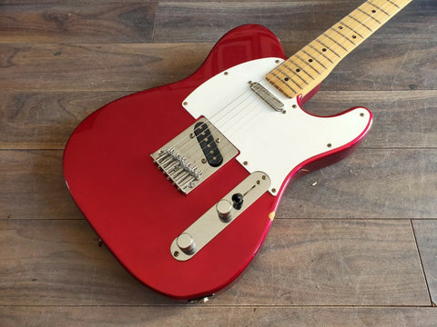 1993 Fender Japan TL-STD MIJ Telecaster Standard (Candy Apple Red)