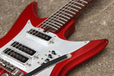 1960's Teisco Japan K-3L Vintage Offset Electric Guitar (Red)