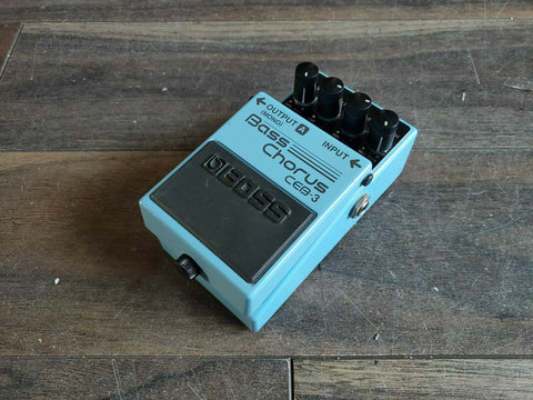 Boss CEB-3 Bass Chorus Effects Pedal